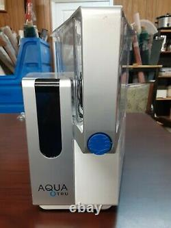 AquaTru Countertop Water Filter Purification System Clean NEEDS NEW FILTERS