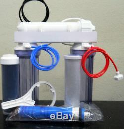 Aquarium Reef Filtration 100 GPD Reverse Osmosis RODI Deionized Water System