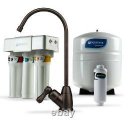 Aquasana OptimH2O Reverse Osmosis Under Sink Water Filter System AQ-RO-3.55