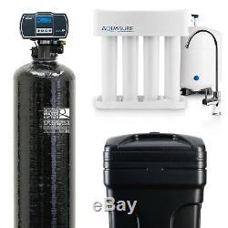 Aquasure Water Softener 48,000 Grain / Reverse Osmosis System 75 GPD Bundle