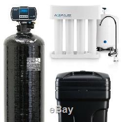Aquasure Water Softener 64,000 Grains / Reverse Osmosis System 75GPD Bundle