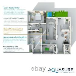 Aquasure Water Softener, Whole House Water Filtration, RO system, 64,000 Grains