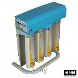 BMB-10 Pro +Biocera Non-Pumped Quick Change 5 Stage Reverse Osmosis System