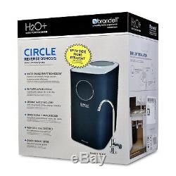Brondell Circle RC100 Reverse Osmosis RO Water Filter System with Faucet Open Box