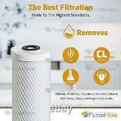 Clear 5 Stage Under Sink RO Home Drinking Water Filter System 50 GPD
