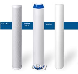 Commercial Grade RO Reverse Osmosis Water Filtration System 1000 GPD Restaurant