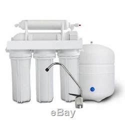 Complete Residential Reverse Osmosis Filtration System Drinking Pure Water RO