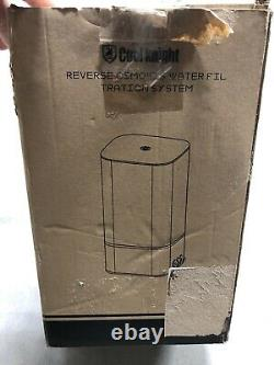 Cool Knight Reverse Osmosis Water Filtration System 4 Stage with Faucet