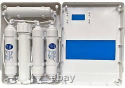 Counter Top Reverse Osmosis 5 Stage Water Filtraton System 200 GPD (With Cover)