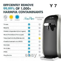 Countertop Reverse Osmosis Water Filtration System RO Water Filter Pitchers