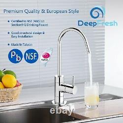DeepFresh 6-Stage 75GPD Reverse Osmosis Nano Silver Technology Filtration System