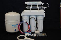 Dual Outlet 75 GPD Aquarium/Drinking Reverse Osmosis Water Filter System DI/RO