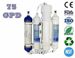 Finerfilters Aquatic 4 Stage 75GPD Compact Reverse Osmosis System RO & DI Unit