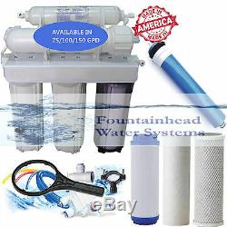 Fountainhead Reverse Osmosis Water Filter Core System 100 GPD. Made in the U. S. A