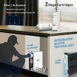 Frizzlife RO Reverse Osmosis Under Sink Water Filtration System- 600GPD Tankless