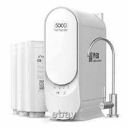 Frizzlife RO Reverse Osmosis Water Filtration System 500 GPD Tankless, PX500