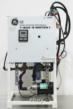 GE Reverse Osmosis Commercial Industrial Water System