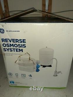 GE Under Sink Reverse Osmosis Water Filtration System GXRQ18NBN