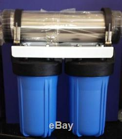 HYDROPONIC RO 1000 GPD Workhorse Reverse Osmosis Water Filter System 11 Drain