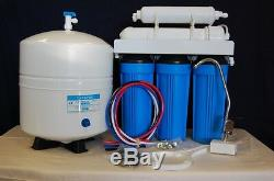 Home Reverse Osmosis Water Filter System HP Series 5 Stage 100 GPD Made in USA