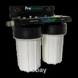 HydroLogic Evolution Reverse Osmosis Water Filter System High Capacity PreFilter