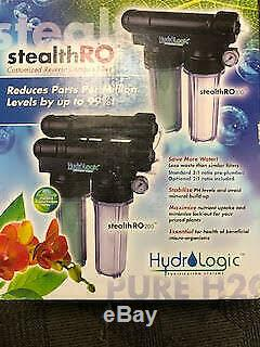 Hydro Logic Stealth RO 200 Reverse Osmosis System Water Filter RO200