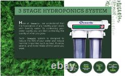 Hydroponic Water Filter System 300 GPD Reverse Osmosis Water Filtration RO PLANT