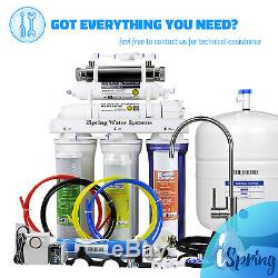 ISpring 6-Stage 75GPD Reverse Osmosis UltraViolet (UV) RO Water System #RCC7U