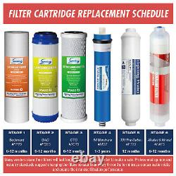 ISpring F19K75 2-Year Replacement Supply Set for 6-Stage RO System