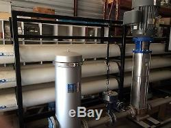 Industrial 100 GPM Reverse Osmosis (RO) System New