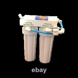 Jett Water Systems 500 GPD 9 Stage Alkaline RO/Hydrogen Water Generator