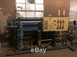 Kinetico Industrial Reverse Osmosis System TI-15 Barely Used Includes Tanks