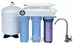 Koolermax K-5 REVERSE OSMOSIS RO WATER FILTER SYSTEM DRINKING + Upgrade USA Made