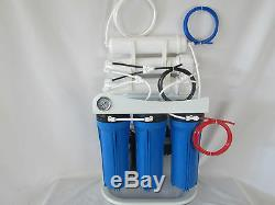 Light Commercial Reverse Osmosis Water System 400 GPD Assemble in USA