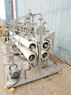 Mo-3397, Phoenix Vessels Reverse Osmosis System. 53 Gpm. 4 Membrane. 600 Psi Max