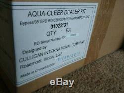 NEW Culligan RO Aqua Cleer Advanced Drinking Water System 5 Stage Filtration 3M