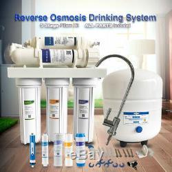 NSF Osmosis Inversa filtro de Agua Planta 75GPD Reverse Osmosis System No-Power