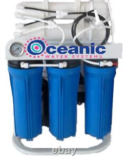 Oceanic 200 GPD Light Commercial RO Reverse Osmosis Water Filter System with Pump