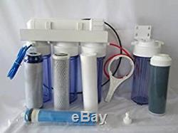 Oceanic Reverse Osmosis RO/DI AQUARIUM REEF Water Filter System 5 STAGE 75 GPD