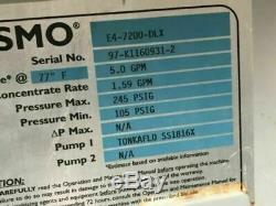 Osmonics E4 Reverse Osmosis System E4-7200-DLX 7200 Gallons