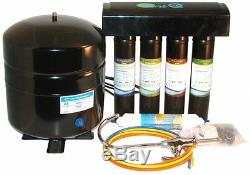 PRO-Q RO WATER SYSTEM With QUICK CHANGE FILTERS 50 GPD WHITE or BLACK