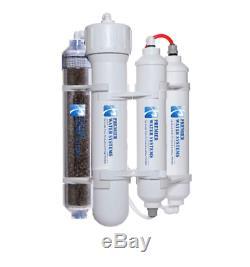 Portable Aquarium Mini Reverse Osmosis DI/RO Water System 4 Stage 150 GPD