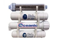 Portable XL RODI Aquarium Reef Reverse Osmosis Water Filter System 2.5 x 12