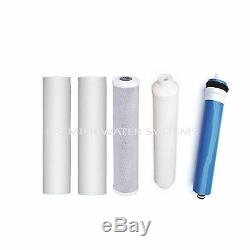 Premier Home Reverse Osmosis Drinking Water Filter System 5 Stage 50 GPD USA