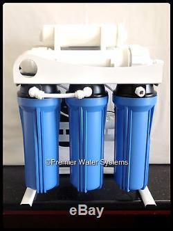 Premier Light Commercial Reverse Osmosis Water System 400 GPD Assemble in USA