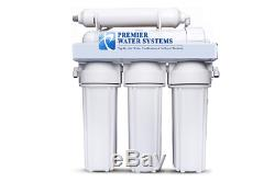 Premier Reverse Osmosis Core Water Filter System 100 GPD 5 Stage Made in the USA
