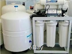 RO LIGHT COMMERICAL REVERSE OSMOSIS WATER FILTER SYSTEM 150 GPD withBOOSTER PUMP