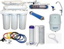 RO Reverse Osmosis Alkaline/Ionizer Neg ORP Water Filter System 50 GPD 6 Stage