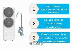 RO Reverse Osmosis Under Sink Water Filtration System 400GPD Fast Flow Tankless