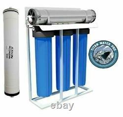 RO Reverse Osmosis Water Filter System 1000 GPD Filter Housings Free Ship
